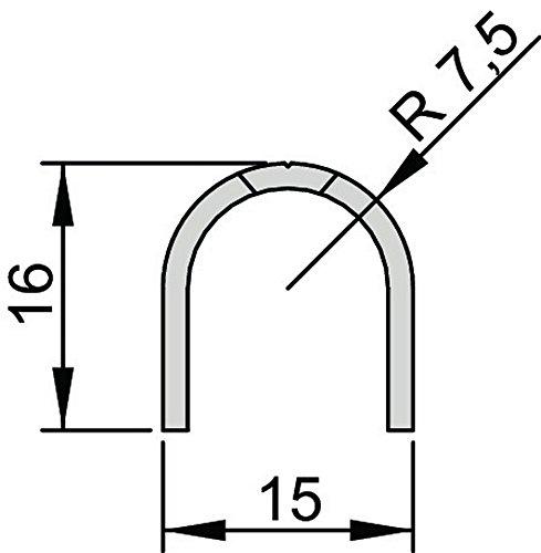 Athmer Bandseiten-Schutzprofil BU-16 Länge 1355mm für Ban 5-201-1355
