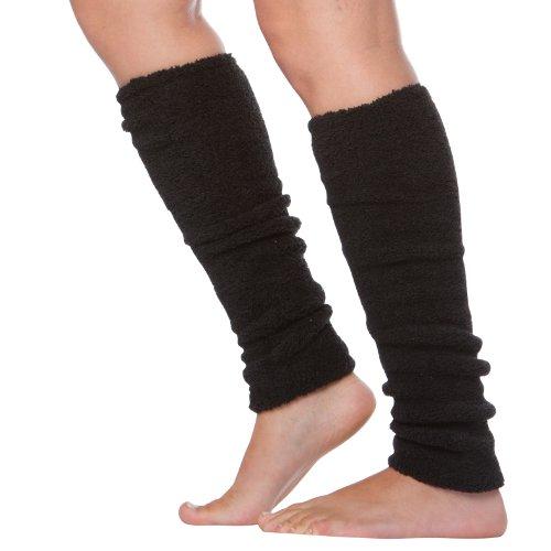 0059 Stulpen Beinwärmer Armwärmer gestrickt gestreift orange-schwarz