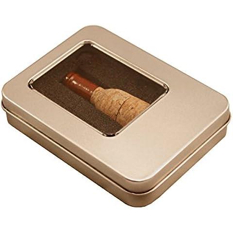 Tomax botella de vino de corcho en caja de regalo como una memoria USB en la memoria USB 8/16 o 32 GB flash del palillo de la