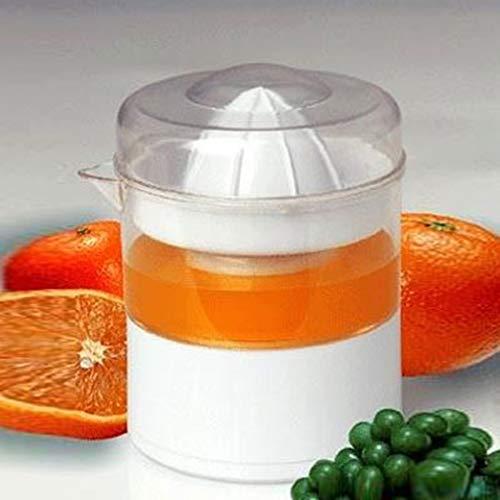 WEIWEITOE-DE HQS-F006 Elektrische Saftpresse Orange Zitrone Trauben Wassermelone Entsafter Mini Tragbare Elektrische Haushaltssaftpresse, weiß,