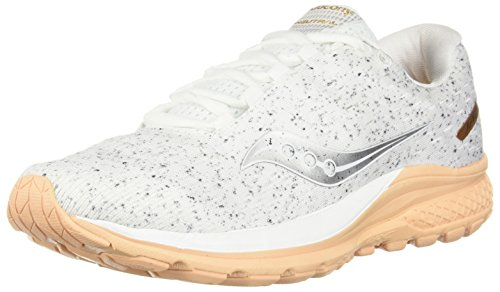 Saucony Women Jazz 20 Neutral Running Shoe Running Shoes White - Silver 6