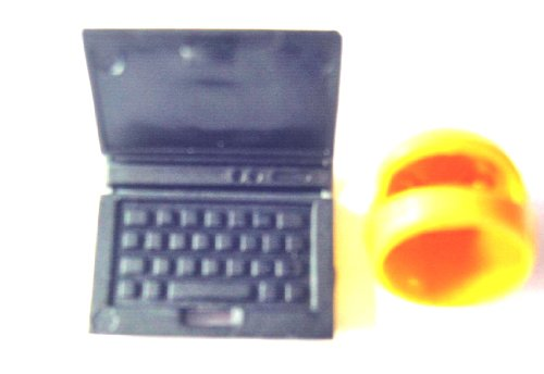 LEGO CITY - sehr seltener COMPUTER / LAPTOP / NOTEBOOK - 62698 + 1 goldener Helm (Lego Laptop)