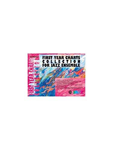 First Year Charts Kollektion für Jazz Ensemble (zweiter Alto Saxophon)-Sheet Music (Brass Ensemble Sheet Music)