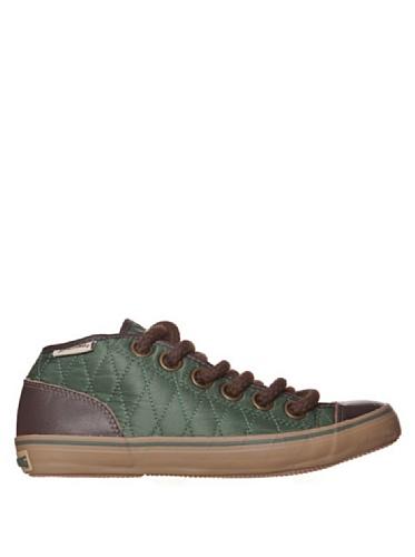 Spalding - Spalding scarpe vintage Net Quilted Nylon Verde - Verde, 37