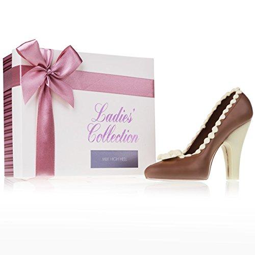 Choco High Heel - Brown - Schuh aus Schokolade | Pumps aus Schokolade | Schokoladenfigur | Geschenk Muttertag | Geschenk für Frauen | Valentinstag Muttertag Geburtstag | Schoko-Schuh