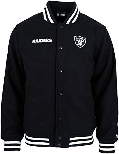 New Era NFL Oakland Raiders Bomberjacke Black