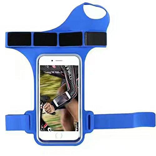 myfei Outdoor Sport Laufen Telefon Arm Tasche, wasserdicht Diebstahlschutz Daumen Handgelenk Belt Armband Handgelenk Bag Radfahren Arm Band (Cross Patch Body)
