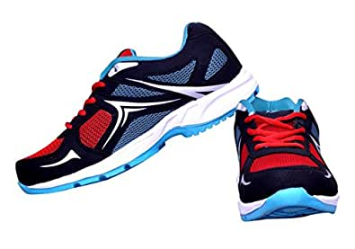BEGONE Men's Wonder Krissh Red Running Shoes, Sport Shoe