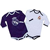 Real Madrid Pack 2 Bodys Bebé Manga Larga