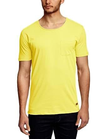 Selected Herren Schlichte Ausführung T-Shirt, Einfarbig Gr. S, Goldfinch