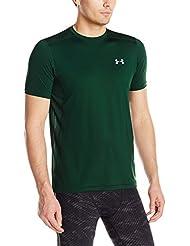 Under Armour - Raid T-Shirt multisport sans manches - Homme - Vert (Forest Green) - Taille: L