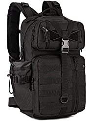 Huntvp 30L Molle Military Backpack Tactical Assault Pack Rucksack Large Waterproof Laptop Daypack for Hiking Camping Hunting