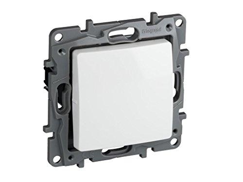 Legrand, 396501 Niloé - Interruptor conmutador para empotrar, interruptor para interior, color...