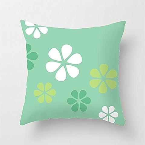 yinggouen Pattern come fiori decorare per un divano federa Cuscino 45x 45cm - Bunny Casa Decorativa Flag