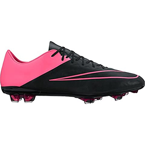 Mercurial Vapor X - Mercurial Vapor X Leather sol ferme [noir