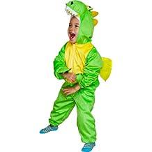 Fun Play Costume dei bambini vestito operato dinosauro costume animale onesies-animale per 3-5 anni (110 cm)