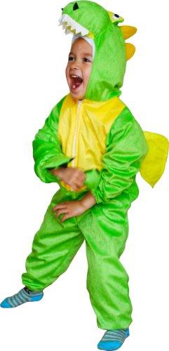 Fun Play Dinosaurier Kostüm Tier onesies- Tierkostüm für 3-5 Jahre (110 cm) (Dino 2 Kinder Kostüme)