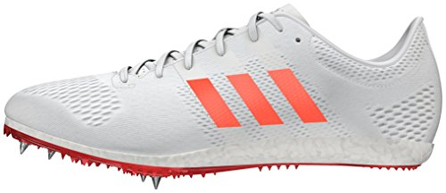 adidas Unisex-Erwachsene Adizero Avanti Traillaufschuhe, Weiß (FTWR White/solar Red/Silver Metallic), 37 1/3 EU -