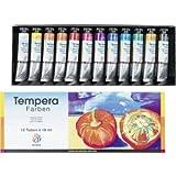 Nerchau Temperafarben VE=12 Farben