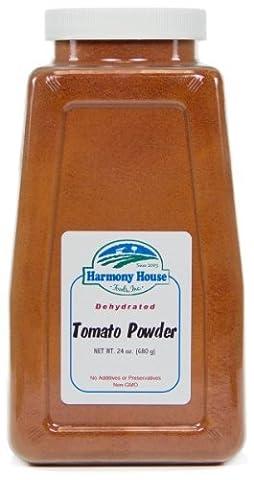 Harmony House Foods, Dried Tomato Powder, 24 Ounce Quart Size Jar