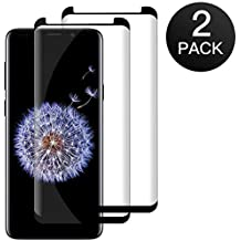 Zloer  Lot de 2  Samsung Galaxy S9 Plus Protection Ecran Verre Trempé -   4079c3ce5170