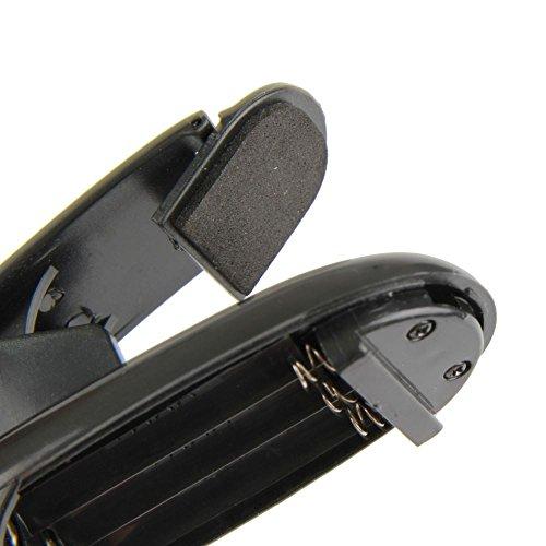 Ganvol 2 Pack Flexo LED de pinza con 2 Modos, 2 Cabezales, 8 LED, Lámpara para Sony Nook Kobo (lectores para e-book), Blanco frío, Cable USB incluido