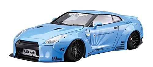 Nissan GT-R R35 LB Works TOYO Tires 1:24 Model Kit Bausatz Aoshima 054024 (Auto Kit Model Nissan)