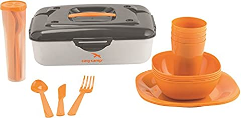 Easy Camp Cerf Picnic Box 4 Persons set vaisselle