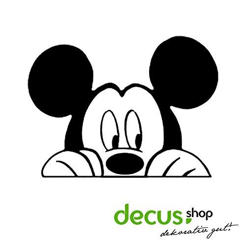 Mickey Mouse // Sticker OEM JDM Style Aufkleber (Schwarz) Schwarz Mickey-mouse-vinyl-aufkleber