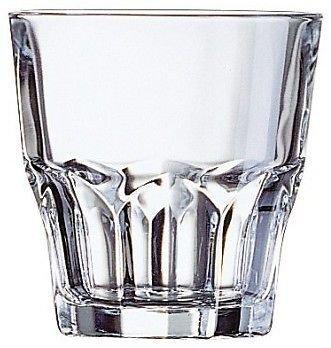 Arcoroc Granity - 9215 - Lot de 6 verres bas pour liqueur, digestif, cocktail - 16 cl