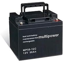 Powery Batería Plomo-ácido (multipower) para Silla de Ruedas Eléctrica Quickie ...
