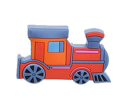 Preisvergleich Produktbild 4PCS schöne Kinder Türgriffe Schubladengriffe RED Lokomotiv Pattern