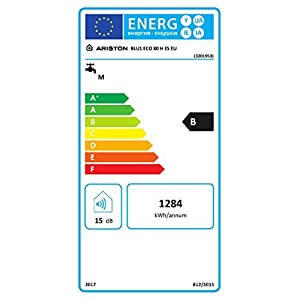 Ariston Termo eléctrico BLU1 Eco Horizontal 80 litros
