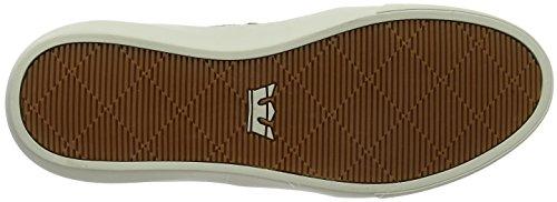 K-Swiss Charles, Sneaker Basse Uomo Brown (Brown-Bone)