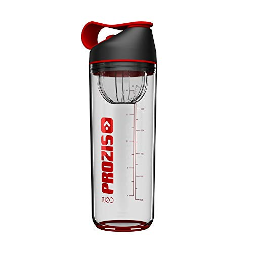 Prozis Neo Mixer Bottle 2.0 - Crystal Neon Red Neon Red