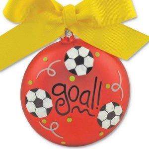 Coton Colors Fußball-Ornament -
