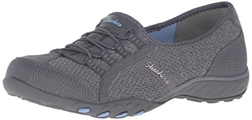 Skechers - Breathe-Easy - Save-The-D, Mary Jane Donna Grigio (Grau (CCGY))