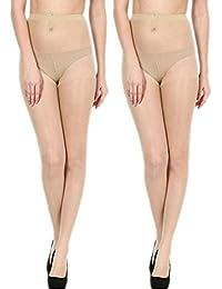 ReadyBee Full Length Skin Women's Stocking (2 Pair)