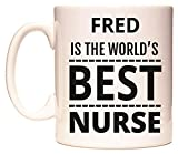Best Fred & Friends Gift For Brothers - FRED is The World's Best Nurse Mug Review