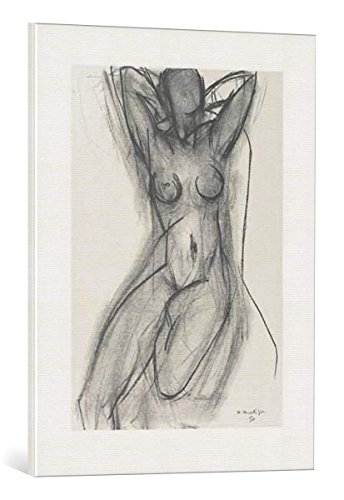 kunst für alle Leinwandbild: Henri Matisse Nu Dans un Fauteuil 1950