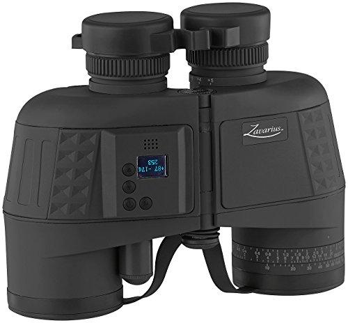 Zavarius Entfernungsmesser: Wasserdichtes Marine-Fernglas 7x50 mit OLED-Display, 91 % Transmission (Marineglas)