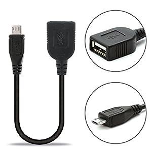 USB Kabel für Samsung Galaxy S2 / S3 / S4 / S5 / S6 / S7 / A3 / A7 / A8 / Note / Edge / Xcover 3 (USB 2.0) OTG Adapterkabel