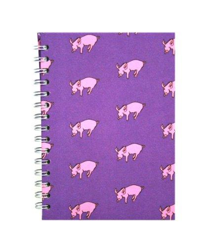 - Weißes Papier Mulberry Abdeckung A5 (Pig-craft)