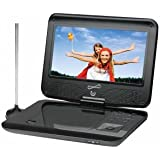 Supersonic Sc-259 9inch Portable DVD Player With Tv Tuner Ntsc Atsc 16:9 Remote Control