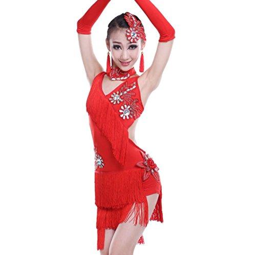 Costumes de danse latine pour enfants Costumes de danse latine pour filles