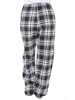 Twist Womens Multicolor Checked Cotton Pyjama Night Wear with Contrast
