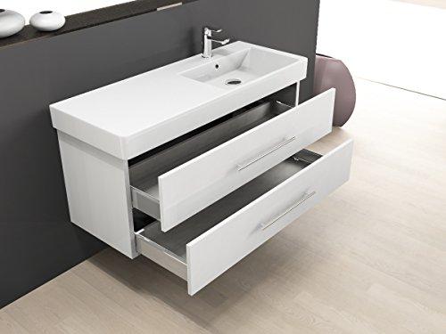 Aqua bagno mobile per bagno 120 cm incluso lavabo in - Sottolavabo bagno amazon ...