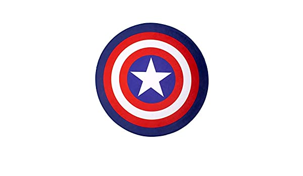 Captain Shield cotton division Tapis de Sol Captain America Marvel