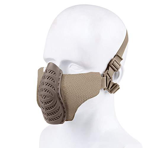 Bostar Máscara Protección Táctica CS Caza Paintball