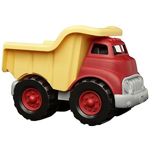 Green Toys DTK01R - Kipplaster, rot (Red Dump Truck)